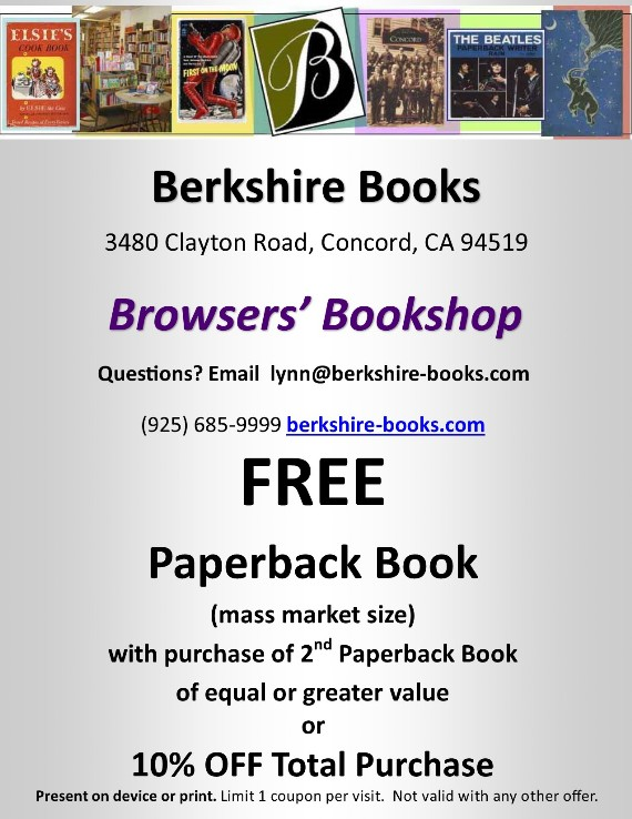 Berkshire Books Concord Coupon