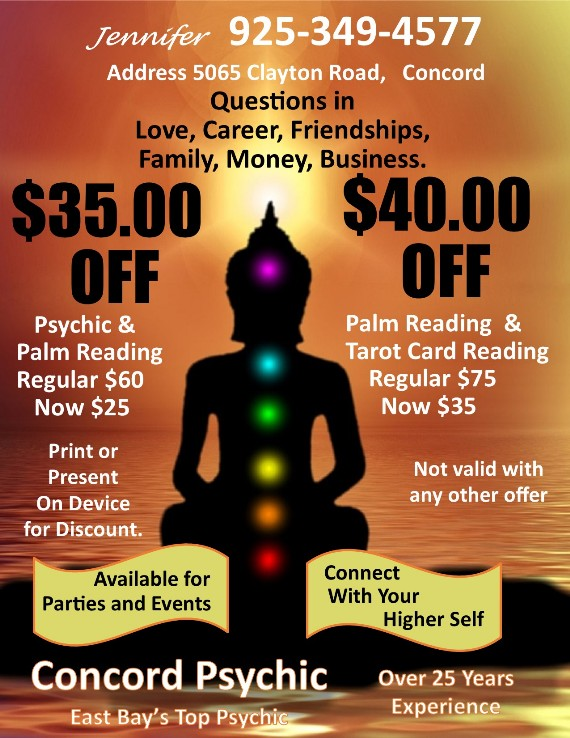 Concord Psychic Coupon
