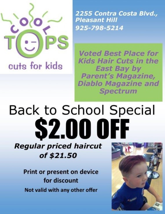 Cool Tops Pleasant Hill Coupon