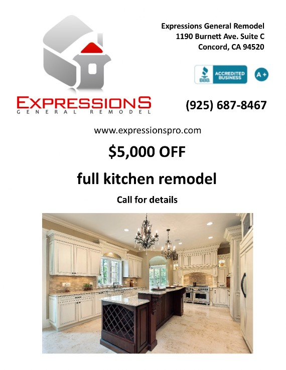 Expressions General Remodel Coupon Contra Costa County