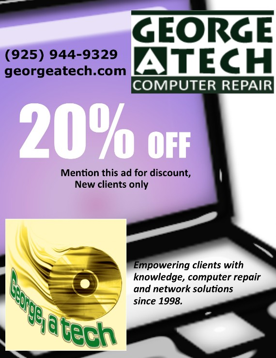 George, a tech Coupon Computer Repair - Contra Costa