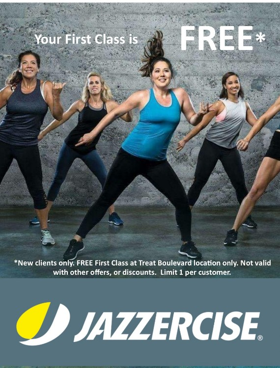 Coupon to save at Jazzercise Concord
