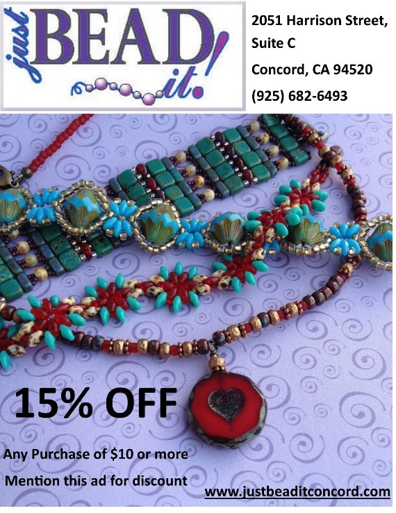 Just Bead It! Concord Coupon