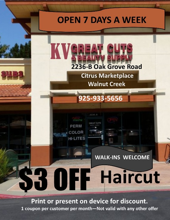 KV Great Cuts Citrus Marketplace Walnut Creek Coupon
