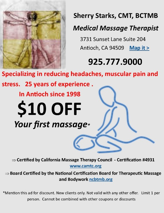 Sherry Starks Medical Massage Therapist
