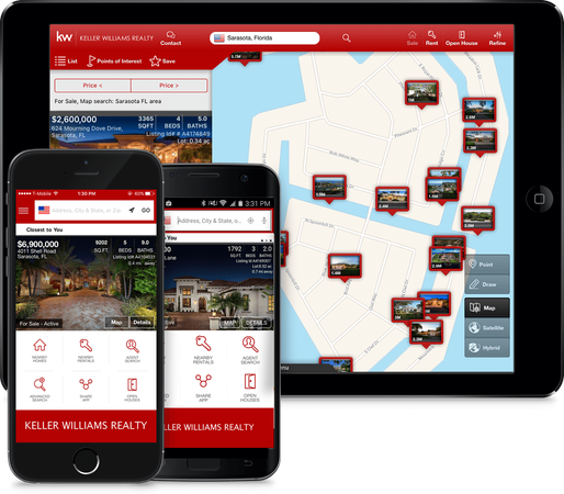 Get APP that shows listings around you - anywhere!